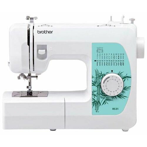 Фото - Швейная машина Brother RS-31, бело-бирюзовый швейная машина brother artcity 170s бело синий