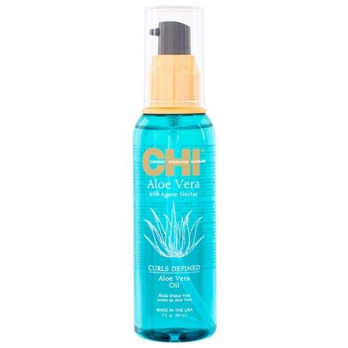 CHI Aloe Vera Oil Интенсивно увлажняющее масло, 89 мл chi luxury black seed oil curl defining cream gel