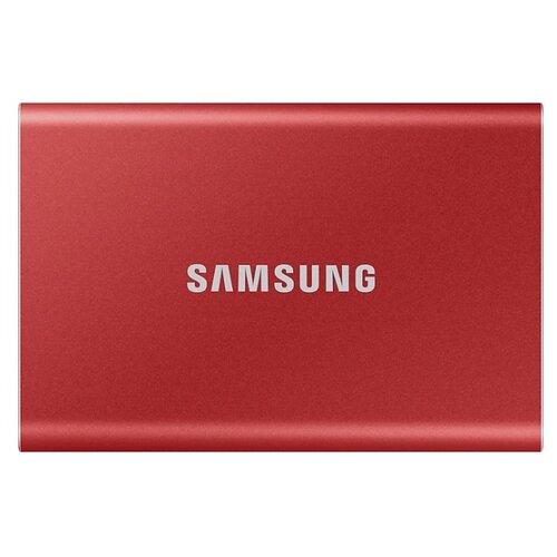 Внешний SSD Samsung Portable SSD T7 1 ТБ красный
