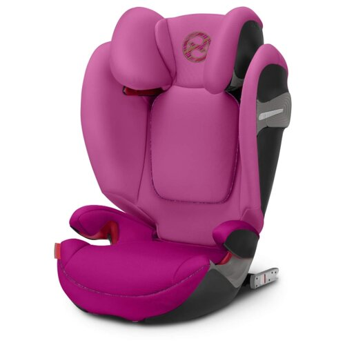 Автокресло группа 2/3 (15-36 кг) Cybex Solution S-Fix, fancy pink