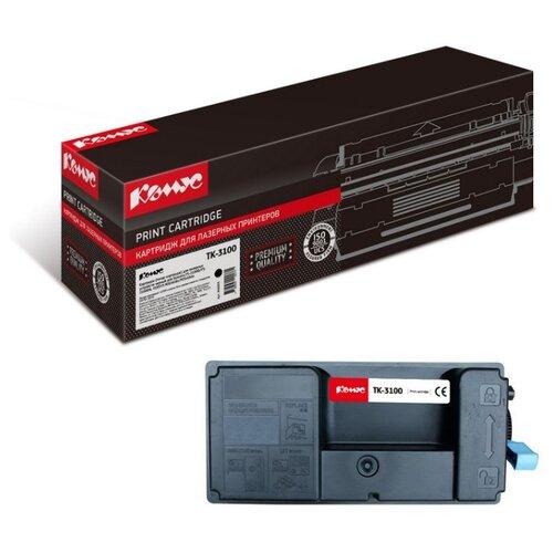 Фото - Картридж лазерный Комус TK-3100 черный, для Kyocera FS-2100D/2100DN картридж лазерный комус tk 580k черный для kyocera fs c5150dn