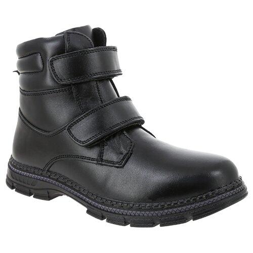 Ботинки KENKA размер 35, черный ботинки для мальчика kenka цвет черный fkh 6626 2 black размер 28