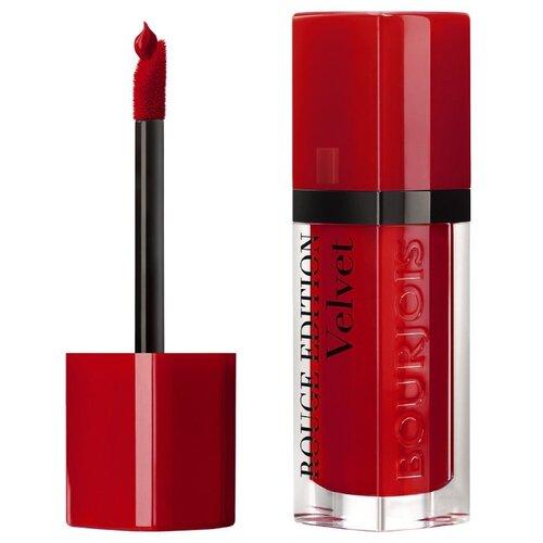 Bourjois жидкая помада для губ Rouge Edition Velvet, оттенок 15 Red-volution