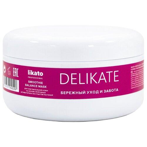 Купить Likato Professional DELIKATE Маска-смузи баланс для волос, 250 мл