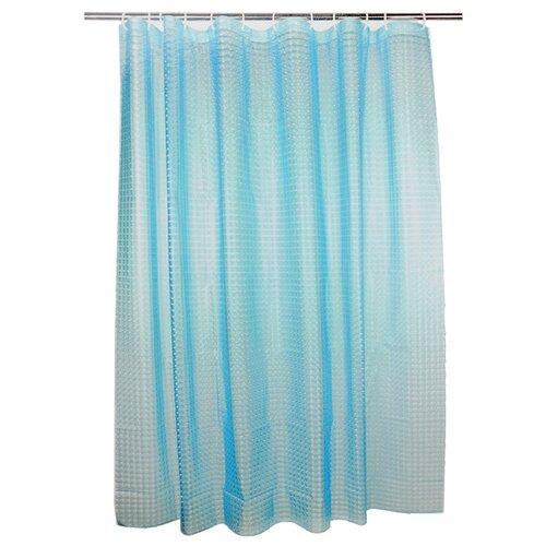 Штора для ванной Vetta 461-462 /461-463 180х180 голубой