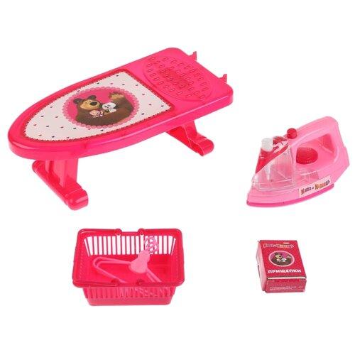 Купить Игровой набор Играем вместе Маша и Медведь B1411292-R розовый, Детские кухни и бытовая техника