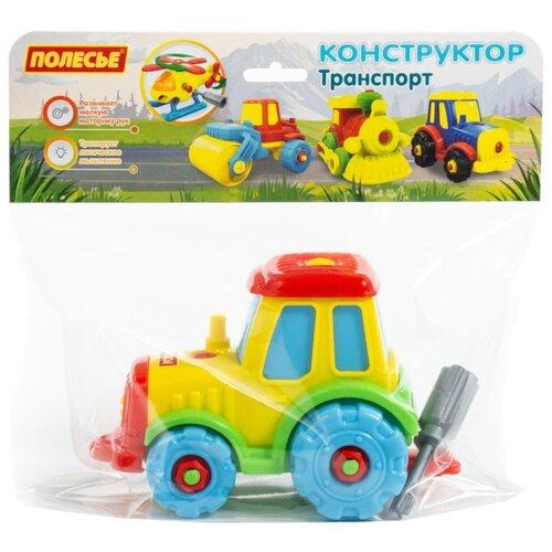 Винтовой конструктор Полесье Транспорт 77769 Трактор