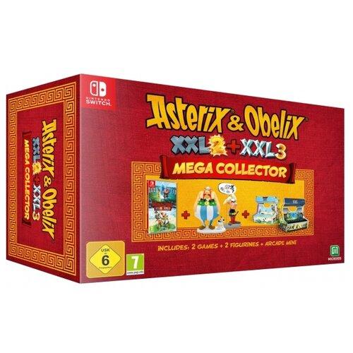 Игра для Nintendo Switch Asterix and Obelix XXL 2 + XXL 3. Мега коллекционное издание