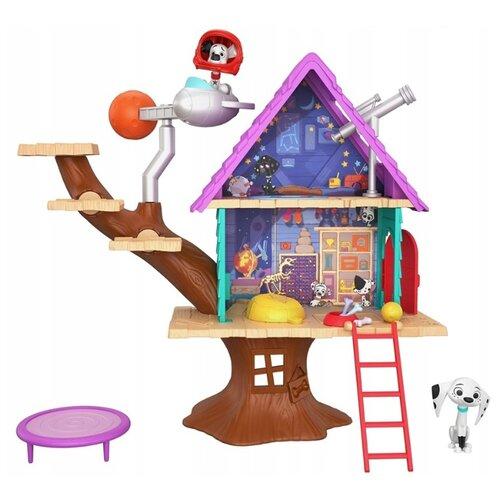 Купить Игровой набор Mattel 101 Dalmatians Домик на дереве GDL88, Игровые наборы и фигурки