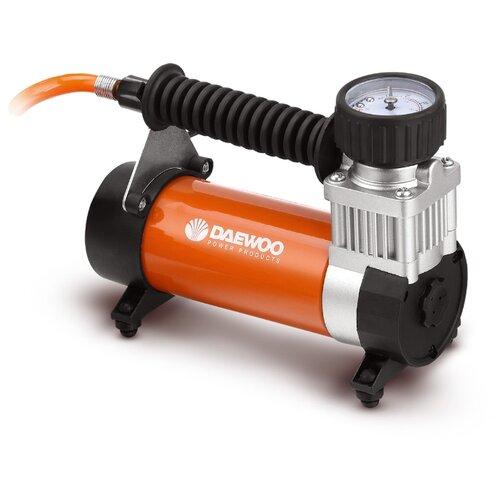 Автомобильный компрессор Daewoo Power Products DW55 PLUS черный/оранжевый автомобильный пылесос daewoo power products davc 100