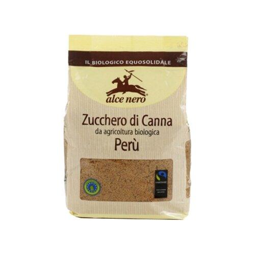 Фото - Сахар Alce Nero тростниковый, коричневый, сахар-песок, 500 г макаронные изделия alce nero фузиллони био 500 г