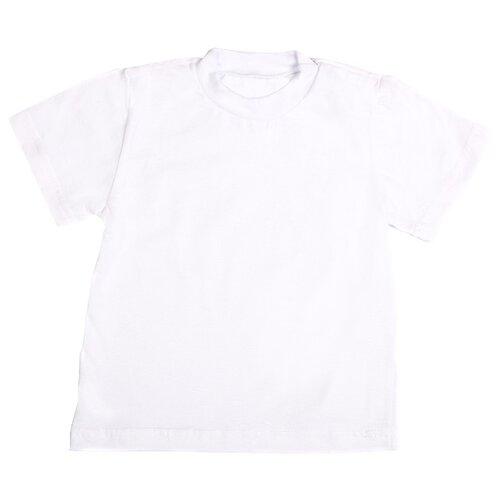Футболка Клякса размер 26, белый, Футболки и рубашки  - купить со скидкой
