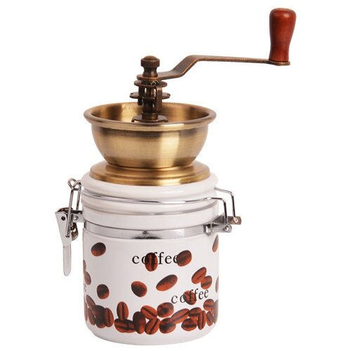 Фото - Кофемолка Alpenkok AK-821K, белый/коричневый кофемолка
