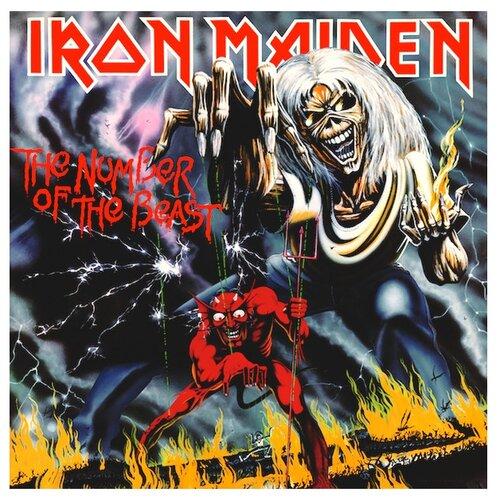 iron maiden visions of the beast 2 dvd Universal Iron Maiden. The Number Of The Beast (виниловая пластинка)