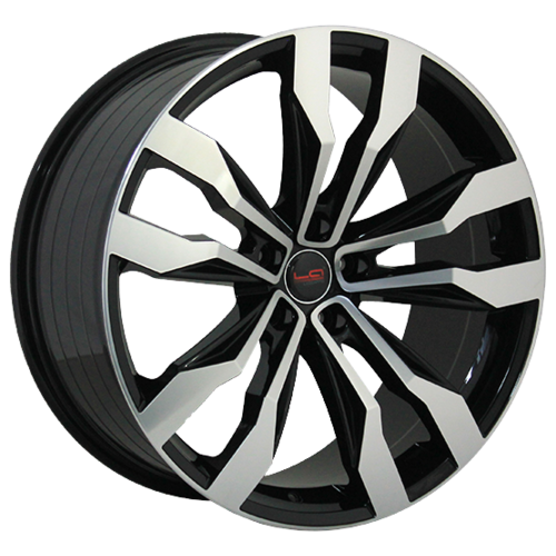 Фото - Колесный диск LegeArtis VW548 8x18/5x112 D66.6 ET25 BKF legeartis a143 8x18 5x112 d66 6 et25 mbf