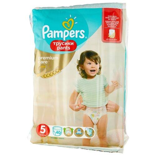 Pampers Premium Care трусики 5 (11-18 кг) 40 шт.