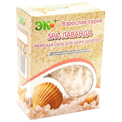 ЭКО ПЛЮС Морская соль для ванн SPA-Лаванда, 1 кг