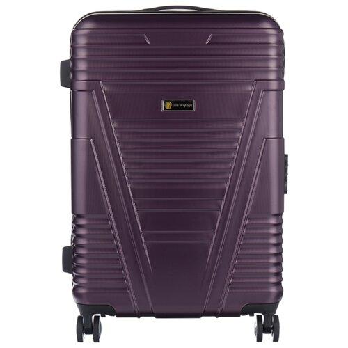 Чемодан Sun Voyage POWER M 68 л, violet чемодан sun voyage sv034 ac133 m
