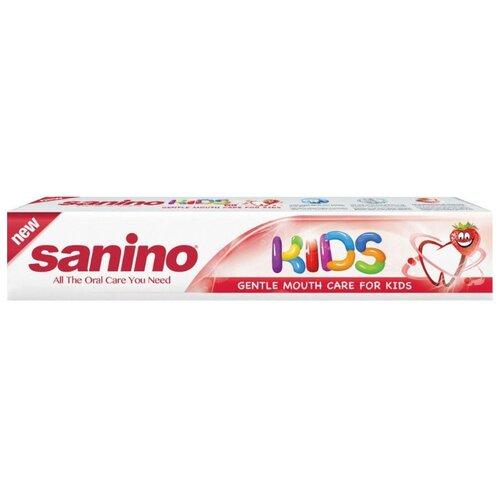 Зубная паста Sanino Kids нежный уход, 50 мл