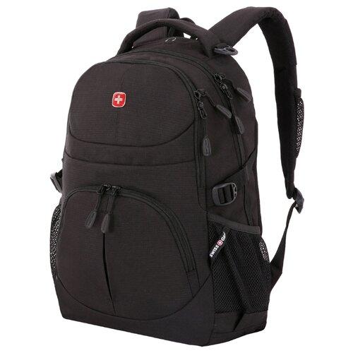 Фото - Рюкзак Swissgear, чёрный, 33х15х45 см, 22 л рюкзак swissgear 32x15x46 см 22 л черный