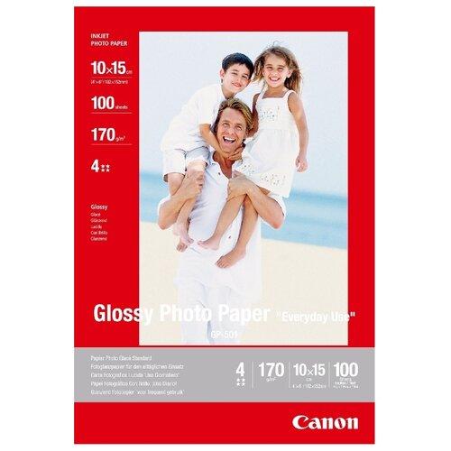 Бумага Canon 10x15 Everyday Use GP-501 170 г/м2 100 лист., белый