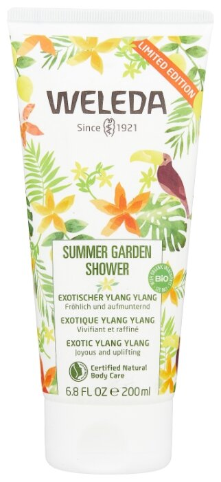 Гель для душа Weleda Summer Garden
