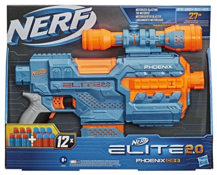 Бластер Nerf Elite 2.0 Phoenix CS-6 (E9961)