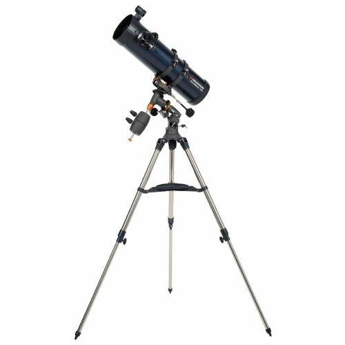 Фото - Телескоп Celestron AstroMaster 130 EQ синий/серебристый телескоп