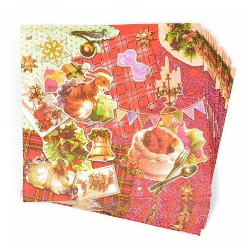 Набор салфеток для декупажа Арт Узор TBY-156, 33х33 см
