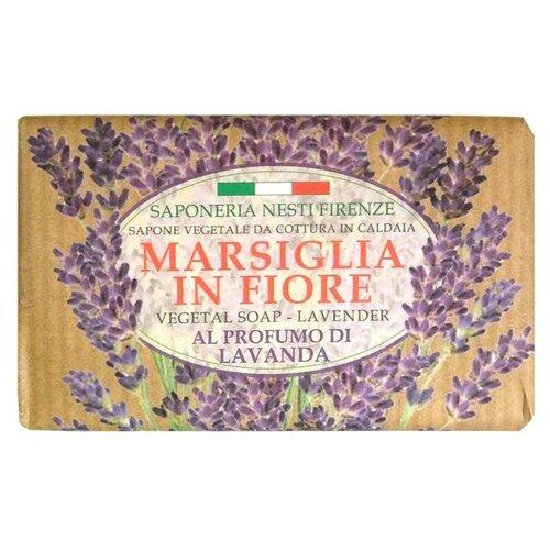 Мыло кусковое Nesti Dante Marsiglia in Fiore Lavanda, 125 г nesti dante мыло vero marsiglia мед 150 г