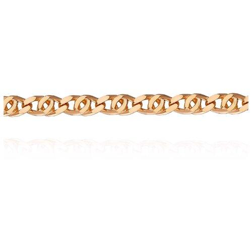АДАМАС Цепь из золота плетения Глаз пантеры ЦГ160А2-А51, 45 см, 7.01 г