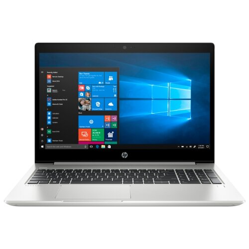 Купить Ноутбук HP ProBook 455R G6 (7DD84EA) (AMD Ryzen 5 3500U 2100 MHz/15.6 /1366x768/4GB/500GB HDD/DVD нет/AMD Radeon Vega 8/Wi-Fi/Bluetooth/Windows 10 Pro) 7DD84EA серебристый