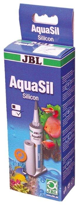 Герметик JBL 6139100 Аквариумный силикон AquaSil 80 мл.