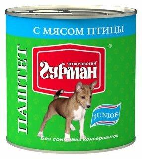Корм для щенков Четвероногий Гурман 240г