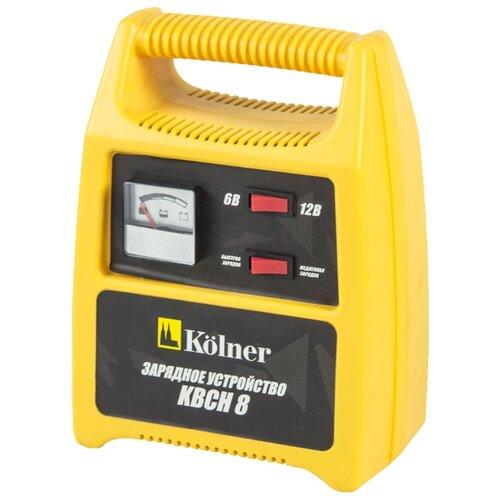 Зарядное устройство Kolner KBCН 8 желтый/черный зарядное
