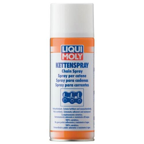 Смазка для мототехники LIQUI MOLY Kettenspray 0.4 л смазка liqui moly pflege und gleispray для ухода за пластмассами 0 4 л