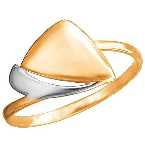 Эстет Кольцо из красного золота 01К0112338Р, размер 17