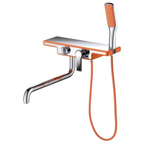 Душевой набор (гарнитур) D&K DA145331x оранжевый/хром душевой набор гарнитур argo 101