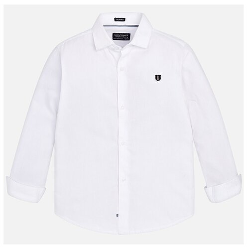 Купить Рубашка Mayoral размер 152, белый, Рубашки