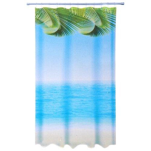 Штора для ванной Vetta 461-483 180х200 пальмы