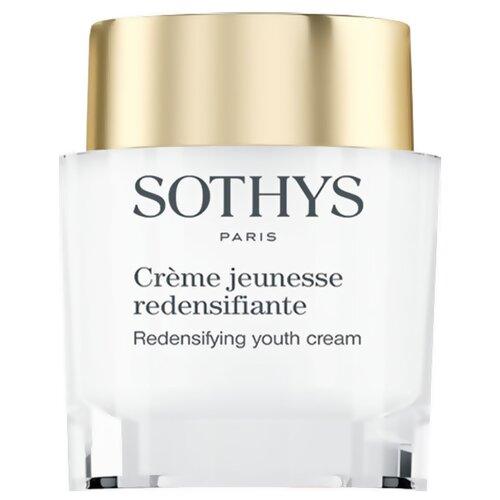 Уплотняющий ремоделирующий крем для возрождения жизненных сил кожи лица Sothys Redensifying Youth Cream, 50 мл недорого