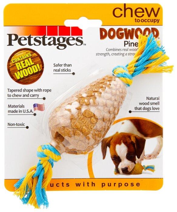 Игрушка для собак Petstages Dogwood Шишка (214YEX)