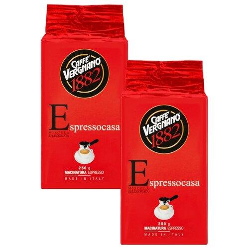 Фото - Кофе молотый Caffe Vergnano 1882 Espresso Casa, 500 г кофе молотый caffe vergnano 1882 espresso casa 250 г