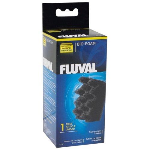 Fluval картридж Bio-Foam для 104/206 черный fluval картридж fx5 6 carbon impregnated foam pad комплект 2 шт черный