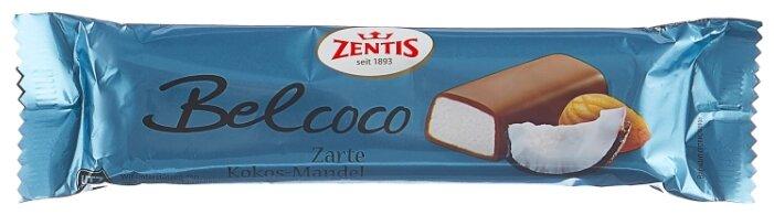 Батончик Zentis Belcoco марципановый с кокосом, 60 г