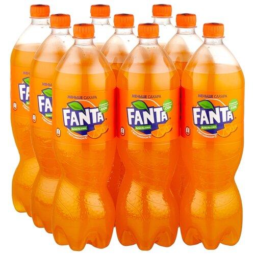 Газированный напиток Fanta, 1.5 л, 9 шт.