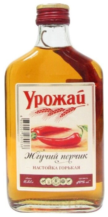 Ликер Урожай Жгучий Перчик, 250 мл