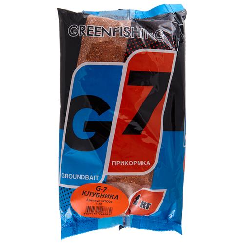 Зерновая смесь для прикормки G-7 Клубничный Микс клубника 1000 г