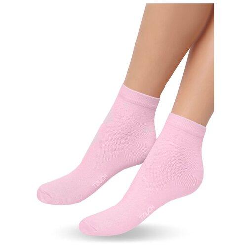 Носки Touch 263, размер 23-25, розовый