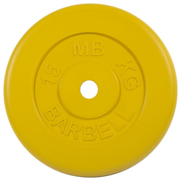 Диск MB Barbell Стандарт MB-PltC26 15 кг
